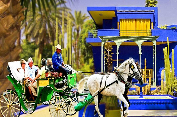 Horse and Carriage Ride with Majorelle Garden