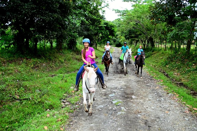Horse Back Riding,Waterfall hike and Rafting class II & III From La Fortuna-Arenal