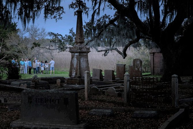 Get exclusive access to Charleston's oldest graveyard!