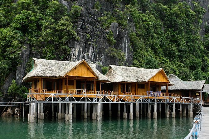 Luxury Cruise & Peaceful Resort in Halong Bay (1 Night Boat & 1 Night Bungalow)