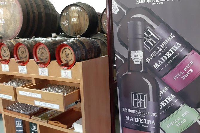 Private Service Madeira Wine Halfday Tour