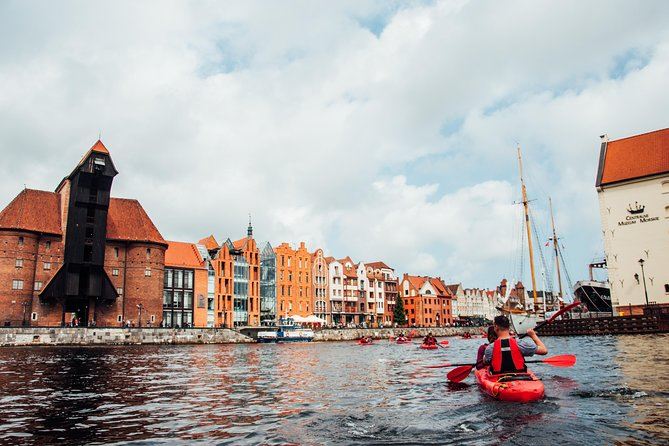 Kayaking tour in Gdansk