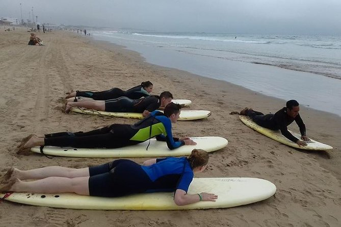 Surfing lesson at Agadir Beach photo 14