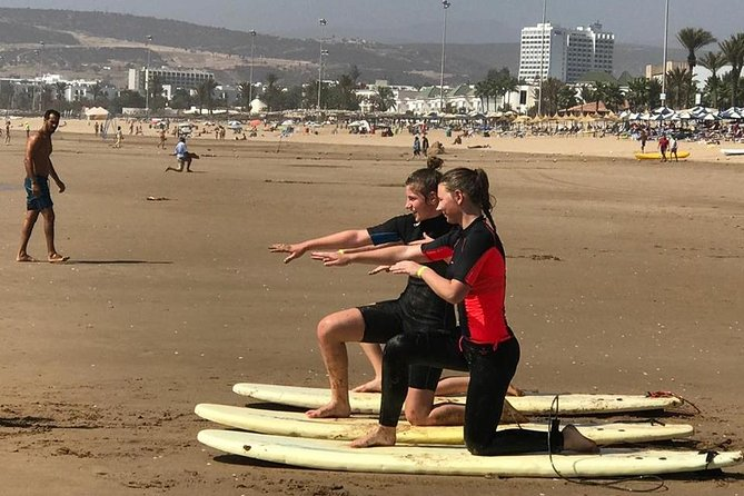 Surfing lesson at Agadir Beach photo 2