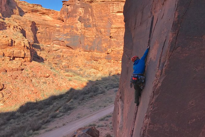 Moab Full-Day Rock Climbing