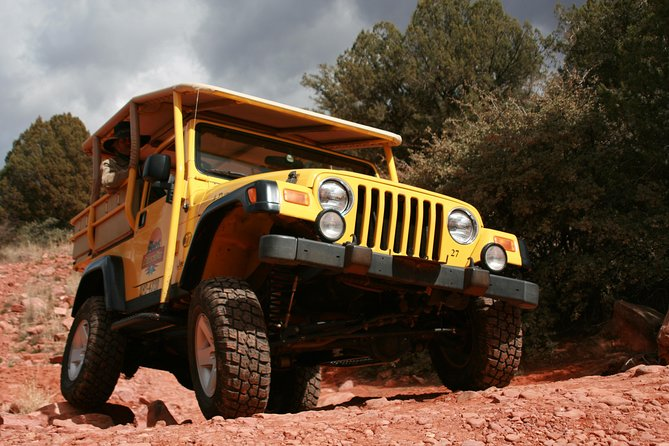 Private Diamondback Gulch by Off-Road Jeep from Sedona
