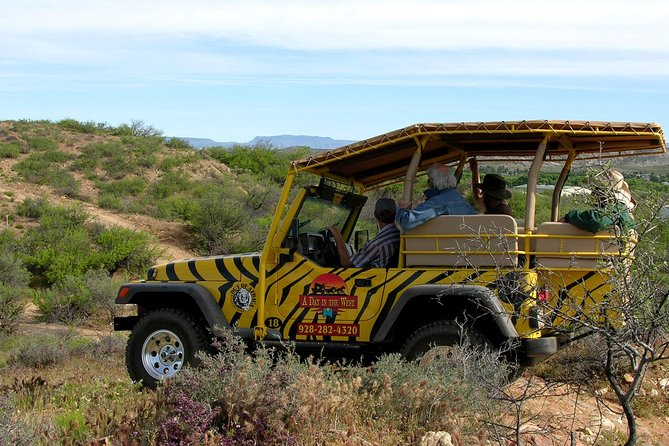 African Ambush Jeep Tour and Winery Tour Combo in Camp Verde