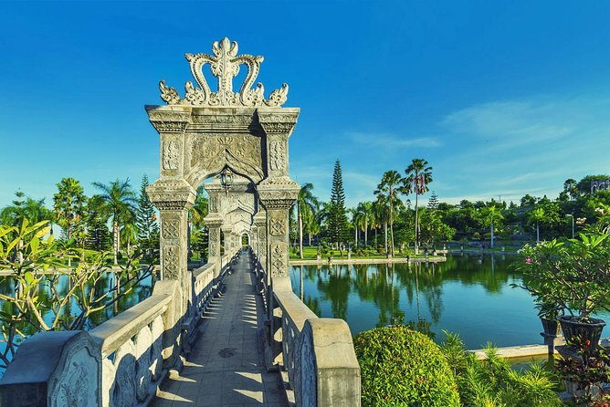 East Of Bali Tour Virgin Beach with Tirta Gangga Water Palace
