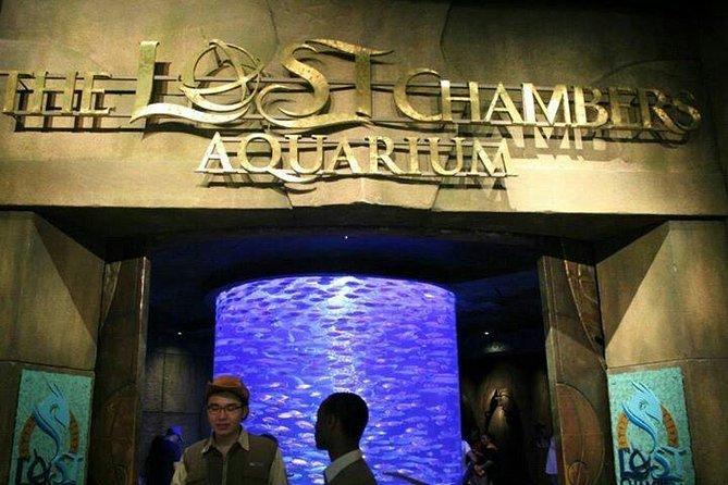 Dubai Atlantis Lost Chamber Aquarium