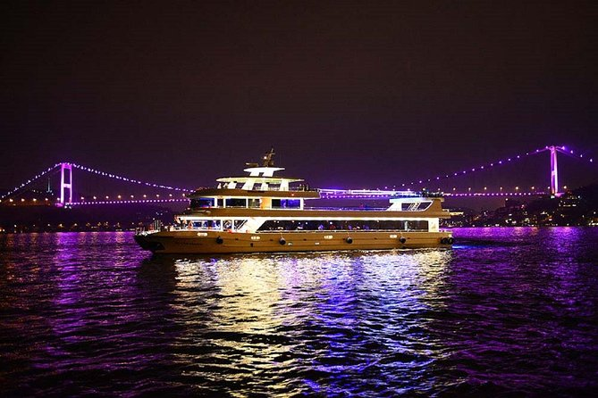 Istanbul Luxury Bosphorus Dinner Cruise & Traditional Shows photo 1