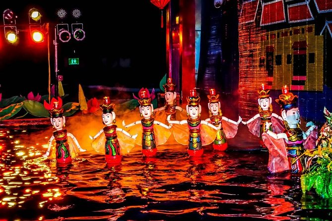 Ho Chi Minh City Dinner Cruise and Water Puppet Show By Night