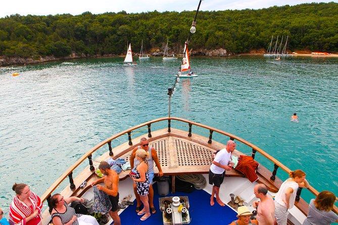 Blue Lagoon Cruise from Corfu