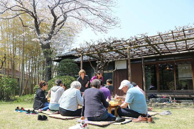 Cooking and Japanese Garden Party in an Authentic Traditional House
