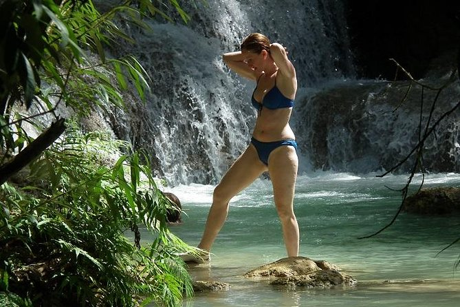 Private Tour: Pak Ou Cave and Kuang Si Waterfall Tour from Luang Prabang