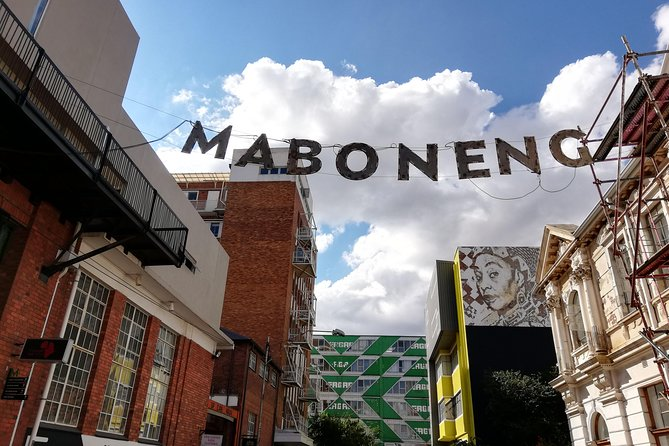 Johannesburg City Tour Combined with Maboneng