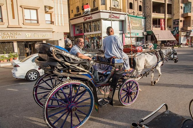 city tour by horse carriage,local markets.small villages&public cafe shop.luxor photo 1