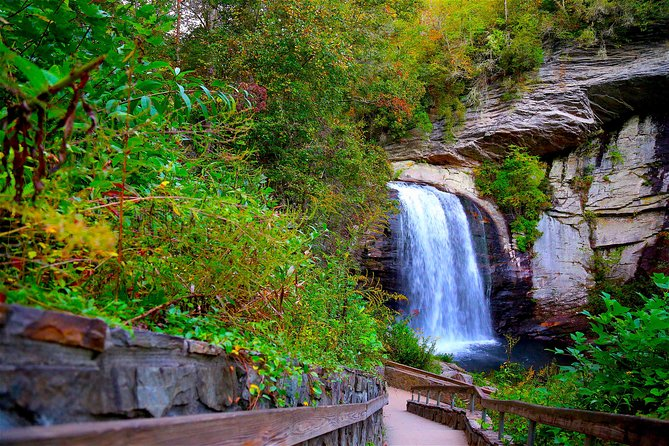Hiking Tour of Blue Ridge Parkway Waterfalls from Asheville
