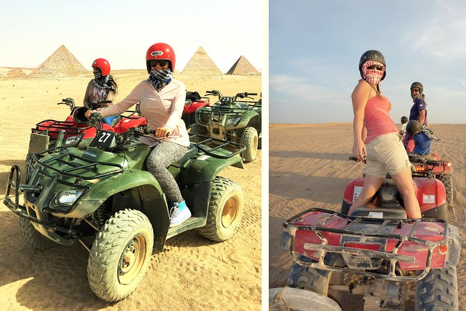 Private Day Tour of Saqqara and Quad Bike Adventure
