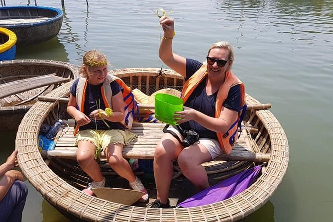 Countryside Tour of Hoi An, Basket Boat, Buffalo ride, Farming with local Farmer