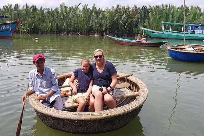 Countryside Tour of Hoi An, Basket Boat, Buffalo ride, Farming with local Farmer photo 3