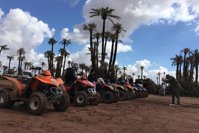 2 HOURS QUAD BIKING in the Palm Oasis (Palmerie) MARRAKECH