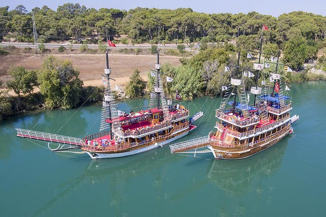 Manavgat River Cruise & Waterfall & Bazaar Visit