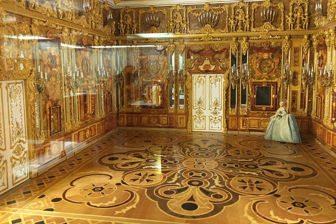 Museum of Amber - see the works of The Amber Room leading restorer