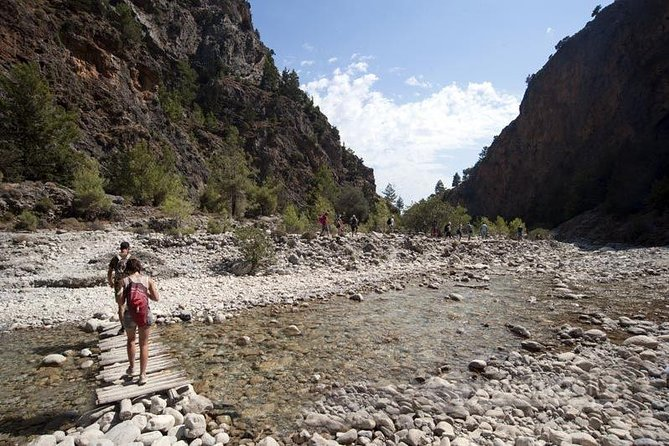 Exploring Samaria Gorge