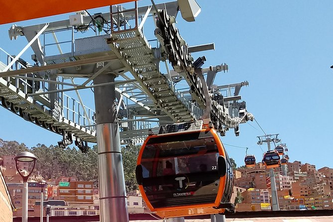 La Paz City - Cable Car - The Mooon Valley