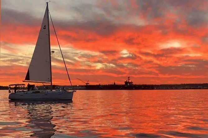 Luxury Sunset Sail Experience on San Diego Bay - Small Group