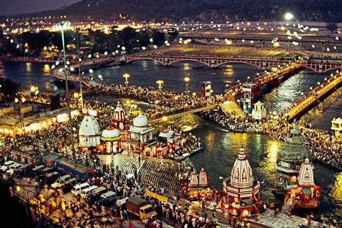 Spiritual Haridwar and Rishikesh Day tour from Delhi