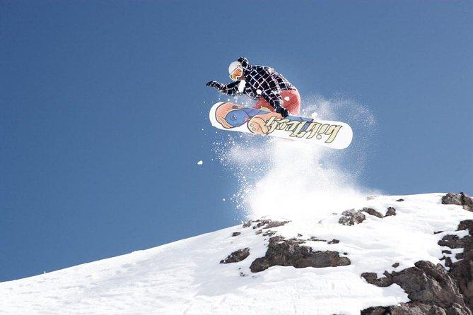 Ski day Farellones transport