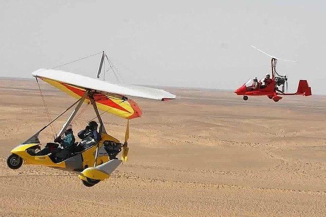 Ultra Light Flight in the Sahara