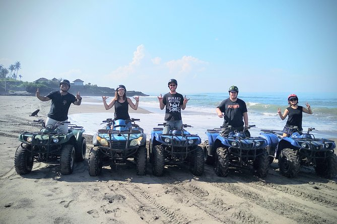 Best Seller Atv In Bali : Quad Biking Black Sands Beach