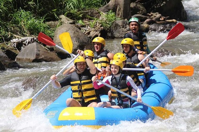 Ubud White Water Rafting and Ubud Full Day Tour