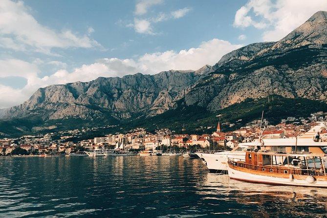 From Split Airport to Makarska