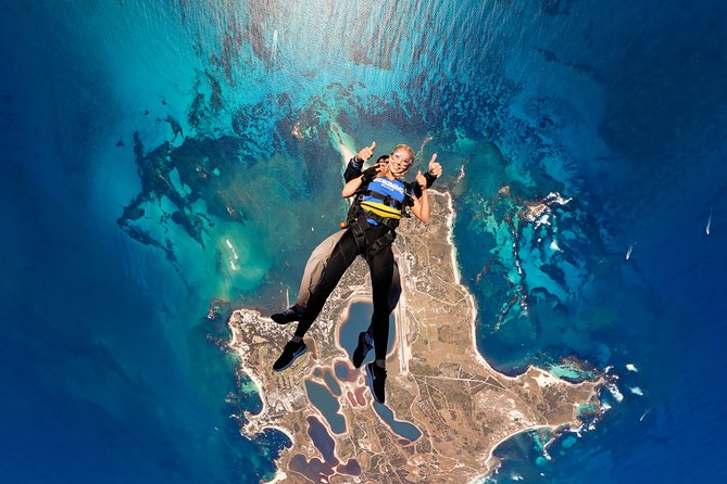 Rottnest Island Skydive Including Round Trip Ferry from Fremantle