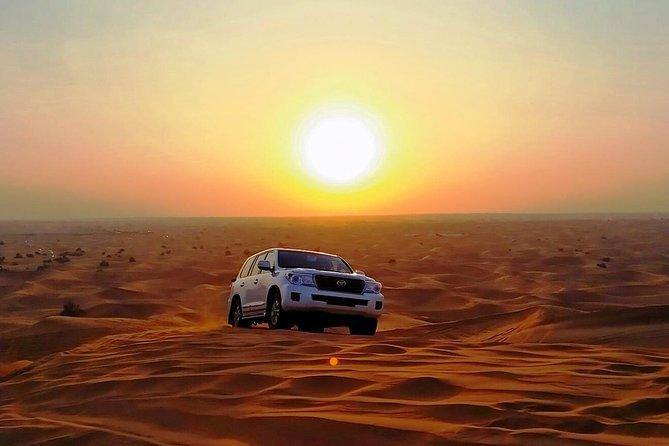 Abu Dhabi Desert Safari 4x4, BBQ Dinner, Camel ride