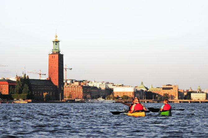 Self-Guided Kayak Adventure In Central Stockholm (Two-man kayak)