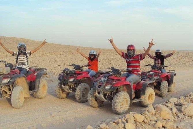 Sunset Quad Bike Safari Tour in Luxor
