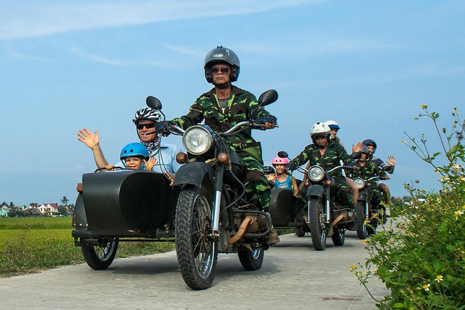 Morning Hoi An countryside tour by sidecar