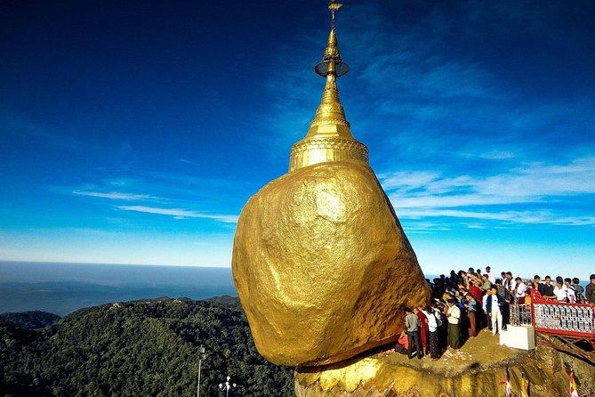 Private Kyaiktiyo Pagoda and Bago from Yangon with Lunch