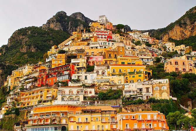 Tour of the Amalfi Coast boat + bus from Sorrento