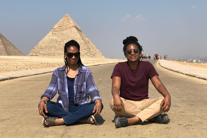 Half Day Tour Adventure for the Pyramids sphinx 45 Minutes camel Ride photo 3