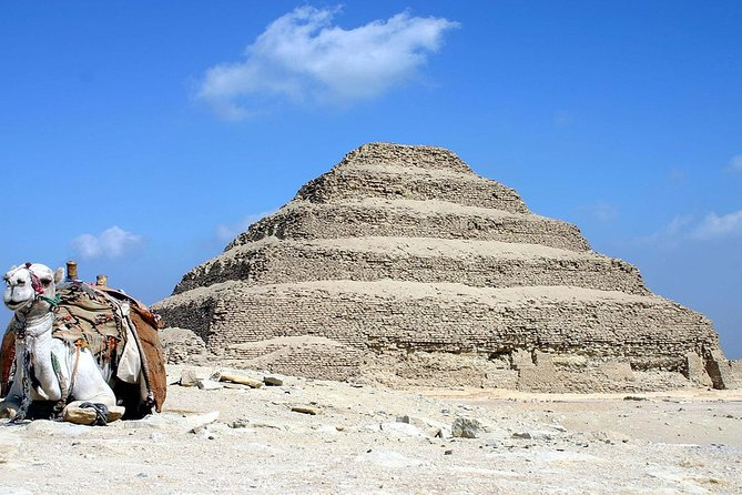8 Hrs Day Tour of Giza Pyramids-Egyptian Museum with Market and Camel ride photo 4