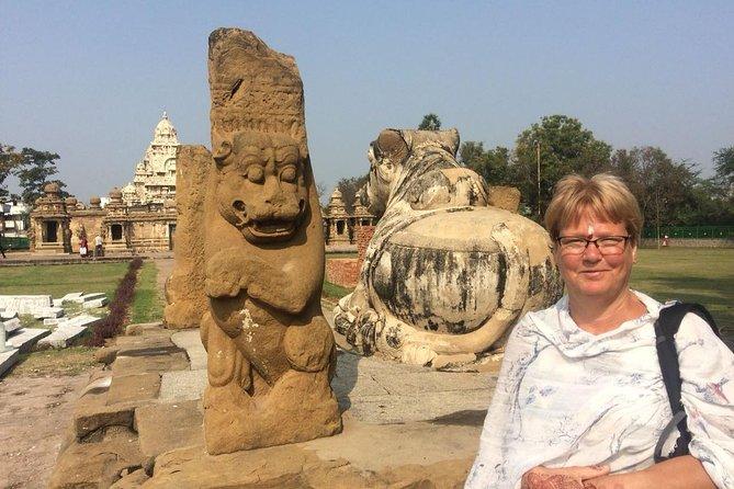 Templos de Kanchipuram e tecelagem de seda Saree, viagem de um dia saindo de Chennai