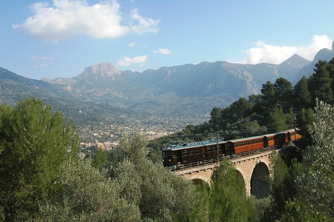 Mallorca in One Day Sightseeing Tour with Boat Ride and Vintage Train