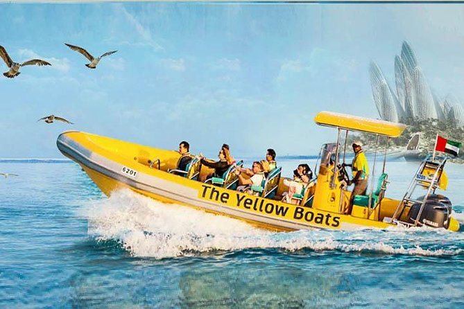 Yellow Boat Ride Dubai Marina Image