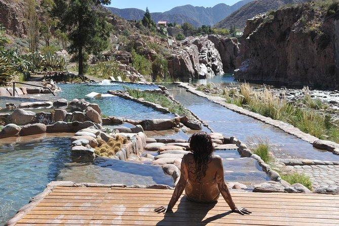 Dia de Spa nas Termas de Cacheuta com transporte partindo de Mendoza
