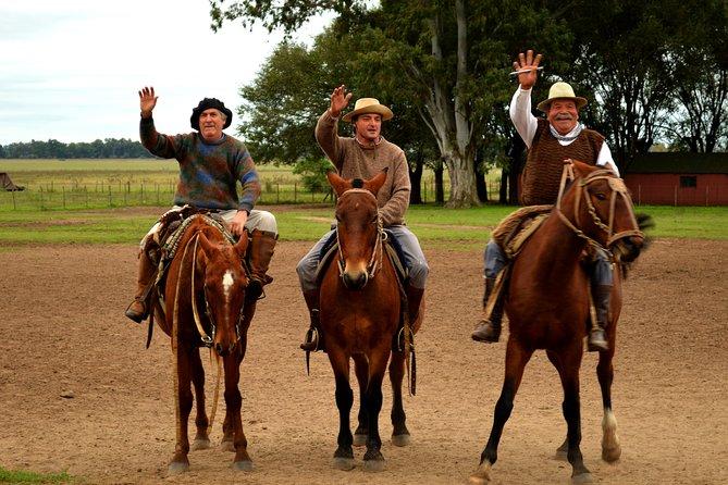 Viagem diurna Gaúcho saindo de Buenos Aires: Rancho Santa Susana